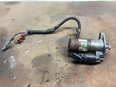 1985 chevy corvette starter with wire harness
