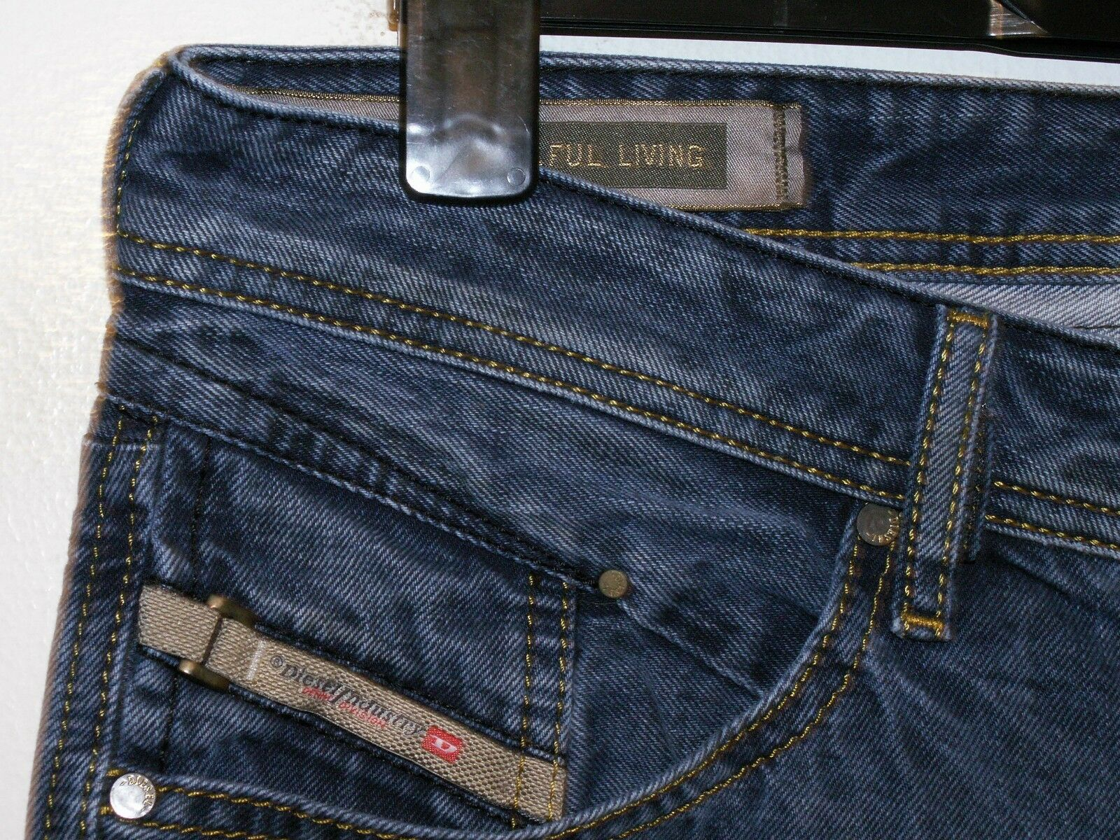 Diesel belther regular slim-taperot fit jeans wash wash wash 0815A W32 L32 (a1537) 5533d6