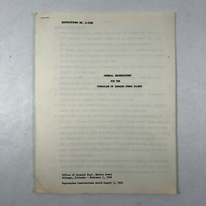 1966-Railroad-Industry-Document-Cummins-Locomotive-Power-Plant-Train-Engine