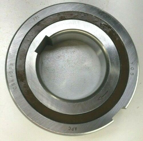 Premium CSK40PP One-Way Precision Clutch Bearing 40x80x22mm w// 2 Keyway Backstop