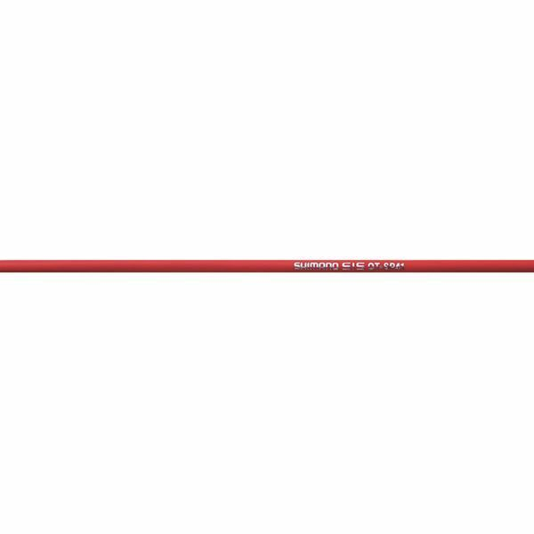 Shimano Dura-Ace 9000 Road gear cable set, Polymer coated inners, red