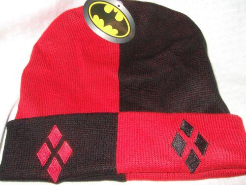 ADULT BATMAN SUPER HERO BAT PLUSH SOFT BEANIE WINTER WARM SKI CRITTER CAP HAT OS