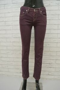 Pantalone-Donna-FAY-Size-26-Jeans-Pants-Elastico-Hose-Woman-Slim-Fit-Pantalon