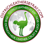 thumbnail 5 -  Ostrich Leather Hide Sky Blue Color (%100 Natural Genuine Hide)