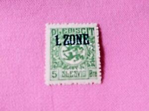 STAMPS-TIMBRE-POSTZEGELS-DUITSLAND-SCHLESWIG-1920-NR-16-D168