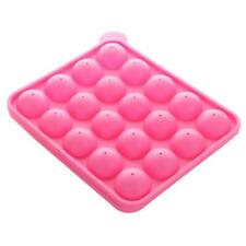 20 Holes DIY Silicone Cake Cookie Chocolate Ball Mould Lollipop Mold Baking Tray