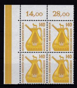 Berlin-1989-SWK-postfrisch-VB-oben-links-MiNr-832-Bronzekanne-Reinheim