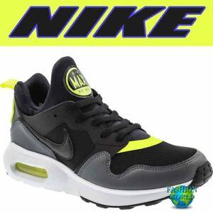 282677195067f Nike Men's Size 9 Air Max Prime Running Shoes Black Gray Volt White ...