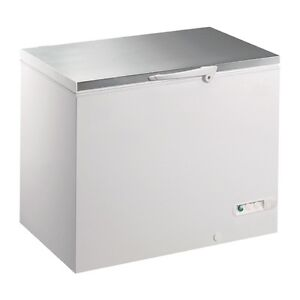 Chillmatic-450-Litre-4-Basket-127x76x84cm-Chest-Freezer-Stainless-Lid-with-Lock