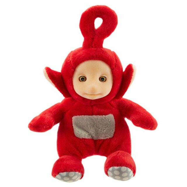 Teletubbie Teletubbies Tele Tubbie Po Plush Soft Stuffed Doll 7 inches tall