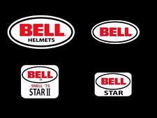 Bell Star 1 2 Helmet Stickers x 4 Vintage Retro F1 Helmet Motorsport Karting