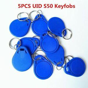 5Pcs-lot-13-5MHZ-UID-Changeable-MF-S50-Card-Magic-Blank-Rewritable-door-Back