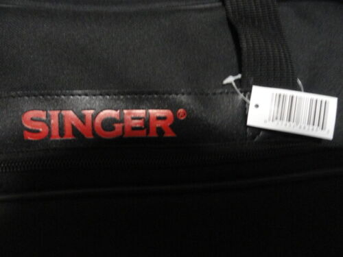 SINGER Black Sewing Machine Tote   Universal for any machine and other crafts