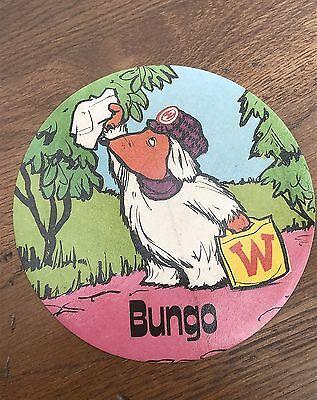 original 1970s large wombles sticker scarce ! wellington