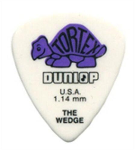 Dunlop Guitar Picks  Wedge  Tortex  72 Pack  1.14mm  424R1.14