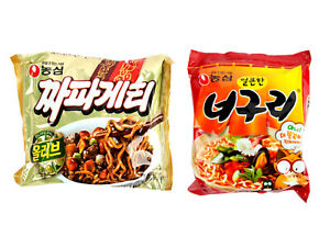 Korean-Popular-Instant-Noodle-NONGSHIM-CHAPAGURI-CHAPAGETTI-NEOGURI-PARASITE