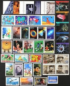 US 2000 Commemorative Year Set of 40 different stamps Mint NH