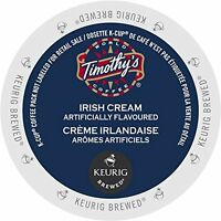 Timothy's World Coffee Irish Cream 24 K-cups For Keurig Brewers, New, Free S on sale