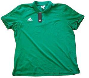 Details zu Adidas TIRO 17 Poloshirt 3XL grün (NEU mit Etikett)