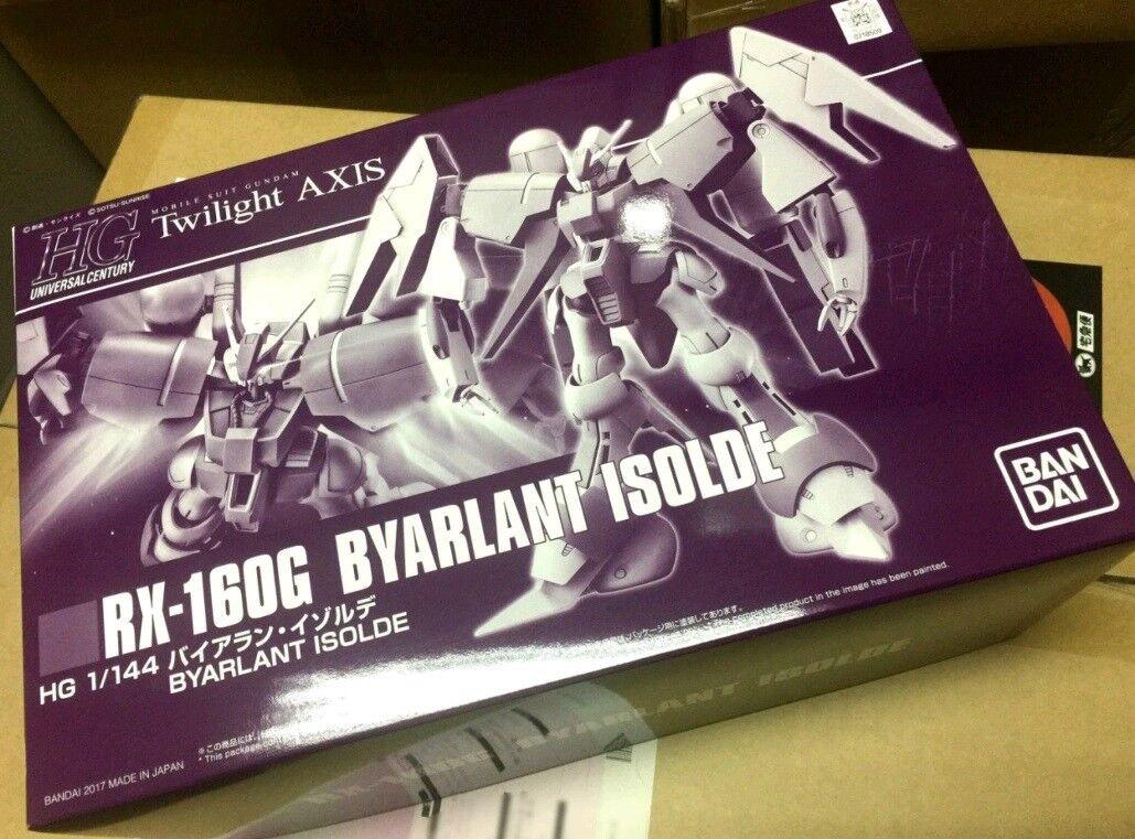 1 144 HG HGUC MS Twilight AXIS RX-160G BYARLANT ISOLDE Gundam MODEL KIT NEW
