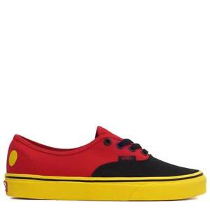 322fe96cb8c Vans UA Authentic x Disney Mickey Mouse Anniversary Red Yellow Men ...
