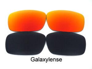 Soleil rouge 13 Pour Oakley Noir De Canteen Remplacement 2006 Galaxie Lunettes aZSq8vxn