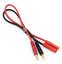 Cable-de-carga-4mm-conector-banana-4mm-conector-HXT-g4-Graupner-IMAX-adaptador-Lipo-bateria miniatura 1
