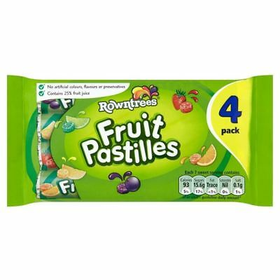 4x52.5g Strengthening Sinews And Bones Knowledgeable Rowntree's Fruit Pastilles