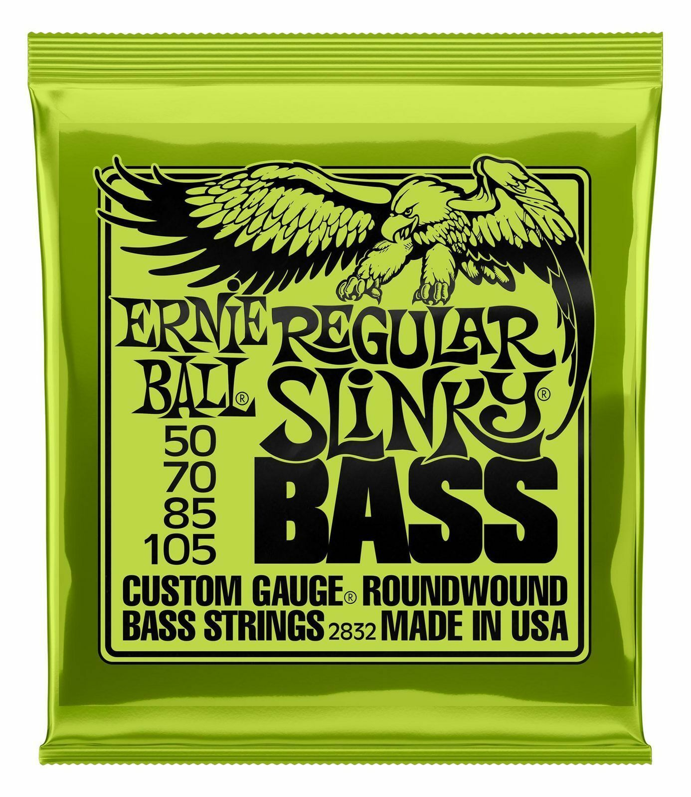 Ernie Ball 2832 regular regular regular slinky Bass Allround 050-105 4-String Bass cuerdas níquel  saludable