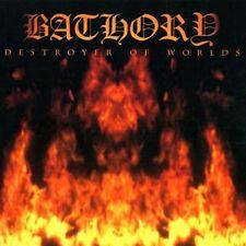 BATHORY - DESTROYER OF WORLDS (BLACK MARK MADE IN SWEDEN!) *** CD ORIG.SIGILLATO