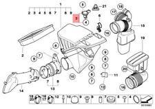 Mass Air Sensor MAF Fits BMW X3 X5 X6 E92 E91 E90 E61 E60 E46 2.0-3.0L 7788744