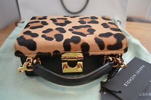 Mark-Cross-Brand-New-with-tags-Mini-Grace-Bag-in-Leopard-Print