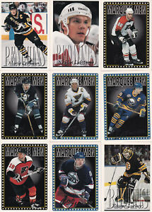 1995-96-OPC-LOT-117-CARTES-INCLUE-100-LEMIEUX-LINDROS-ROBITAILLE-LEETCH-HUNTER