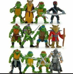 Teenage-Mutant-Ninja-Turtles-TMNT-Action-Figures-Toy-New-Classic-Collection-MINI