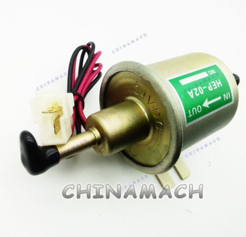 New Gas Diesel Inline Low Pressure Electric Fuel Pump 24V HEP-02A