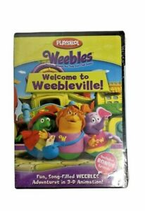 NEW-Weebles-Welcome-to-Weebleville-DVD-Playskool-Cartoon