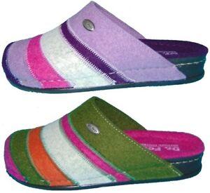 Dr. Feet Zapatillas de estar por casa fieltro lana schlupfer Sandalias 36-42