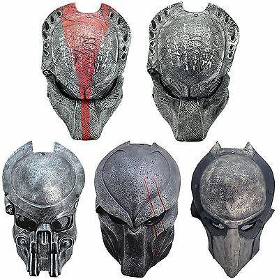 Full Face Wire Mesh Protection AVP Predator Mask Cosplay Halloween Multi-style