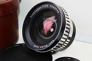 Seltene-Zebra-Carl-Zeiss-Jena-Flektogon-f-4-20mm-Weitwinkel-Spiegelreflexkamera-Objektiv-m42-Super