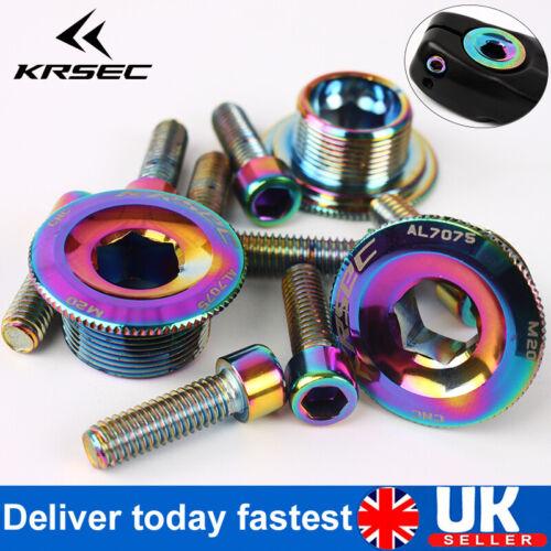 KRESC M15//18//20 Crank Cap Aluminum alloy Hexagon Crankset Chainset Chainring