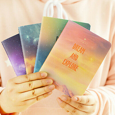 Fantastic Galaxy Star Sky A6 Notebook Diary Book Notepad Gift Stationery LAU