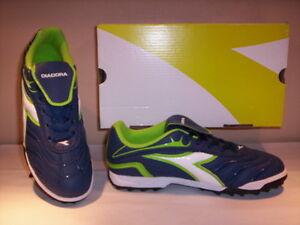 Dettagli su Diadora Clasico TF JR scarpe sportive calcetto sneakers bambino blu 38 38,5 39
