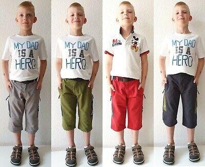 100% Wahr Kinder Jungen 3/4 Kurze Hose Bermuda Shorts, Caprihose, Sommerhose Gr.134-170 Durchsichtig In Sicht