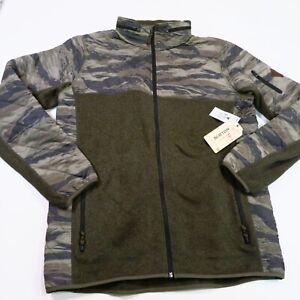 135-Burton-Men-039-s-MB-Pierce-Fleece-Size-Large-Forest-Night-Heather-NWT