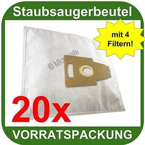 20  Staubsaugerbeutel passend für Bosch BSG 81000