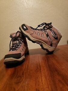 59572756f4c Details about Hi Tec Bandera Hiking Boot - Women's Size 6.5, Brown/Pink