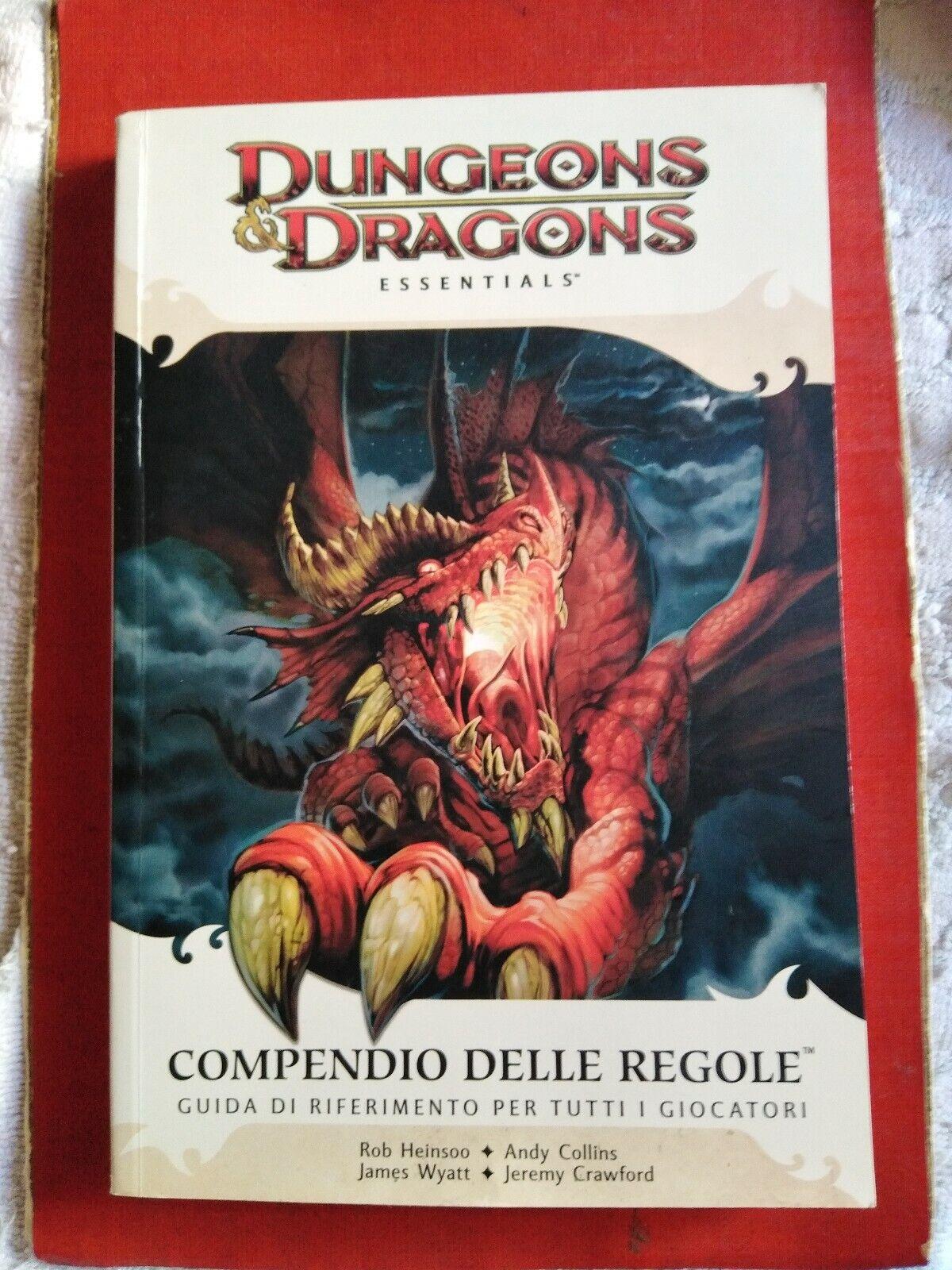 DUNGEONS & DRAGONS  ESSENTIALS-COMPENDIO DELLE  REGOLE- 4°EDIZIONE 2010 MM25  negozio d'offerta