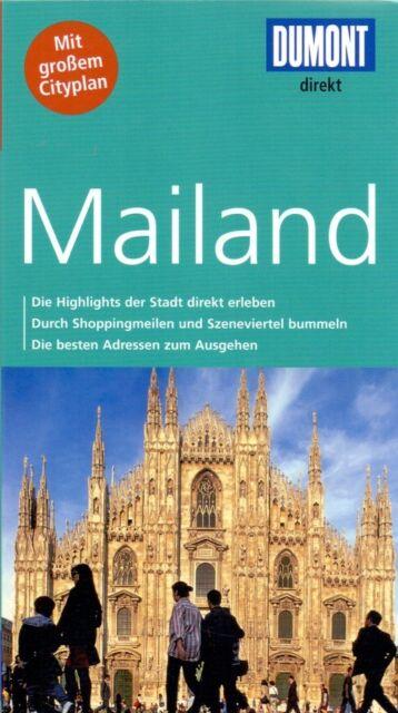 DuMont direkt Reiseführer: Mailand - Aylie Lonmon [Broschiert, inkl. Cityplan, 2