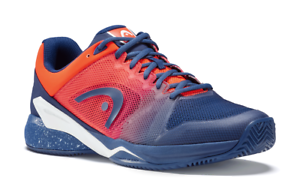 Head revolt pro 2.5 Clay Men-caballeros outdoor zapatillas de tenis-azul-naranja 273018