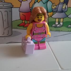 Series 5 lego mini figure FITNESS INSTRUCTOR with radio